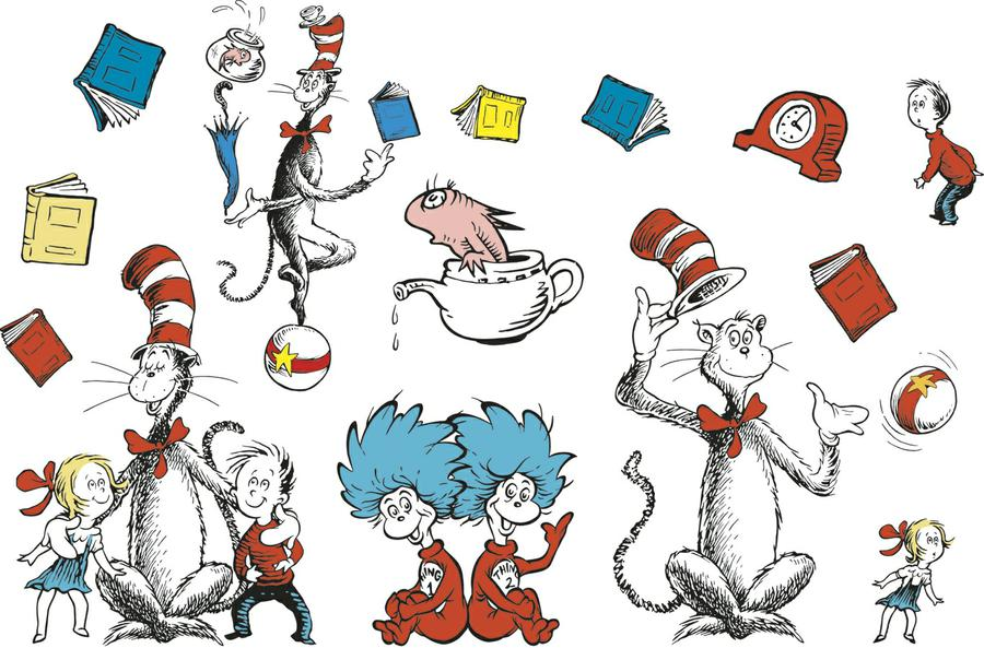 graphic regarding Read Across America Printable identified as Joyful Birthday, Dr. Seuss! Satisfied Examine Throughout The united states Working day